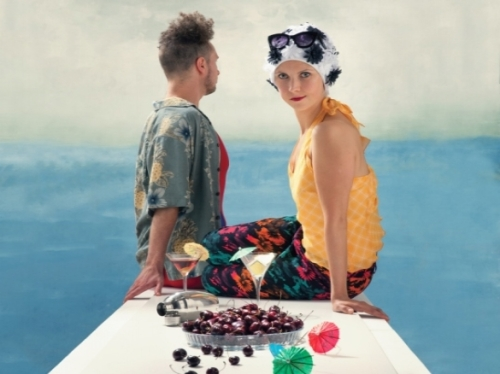 Publicity image for Islands - an idyllic image looking seawre