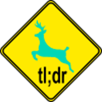 Teal Deer sign